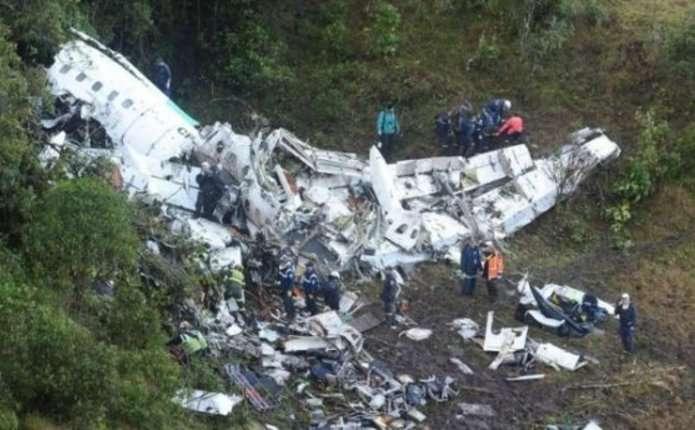 Стало відомо, чому впав літак з футболістами в Колумбії
