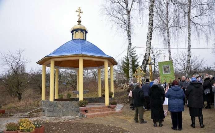 У селі Бочківці на Хотинщині облагородили джерело, якому півстоліття
