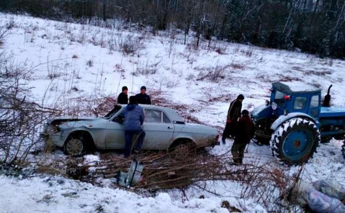 У Чернівецькій області перекинувся автомобіль