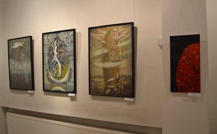 У Вернісажі презентують Третє Всеукраїнське трієнале абстрактного мистецтва ART-AKT