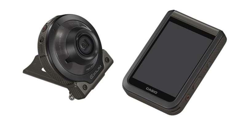 Японська компанія Casio випустила камеру для зйомок у темряві
