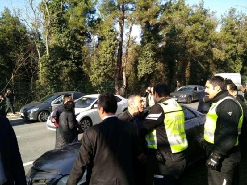 У Стамбулі кортеж Ердогана потрапив у ДТП