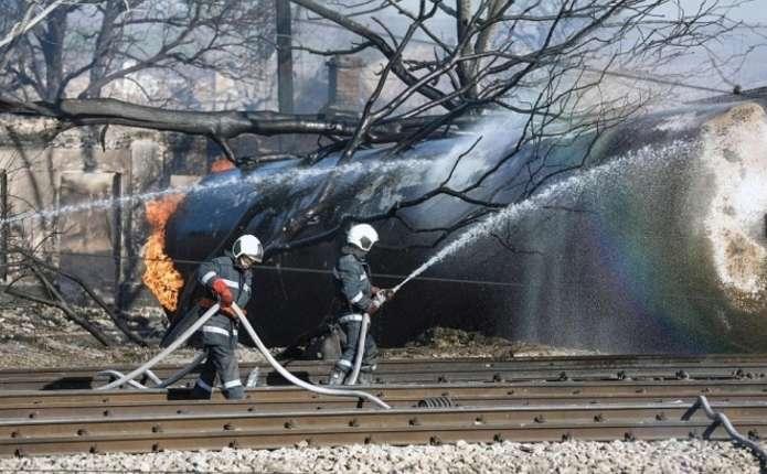 Вибух у Болгарії: з'явилося відео наслідків катастрофи