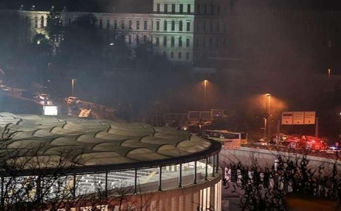 У Стамбулі стався вибух поруч зі стадіоном клубу Бешикташ