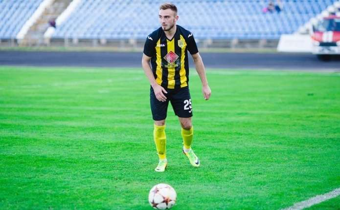 Тарас Сивка став кращим гравцем ФК Буковина у першій частині сезону