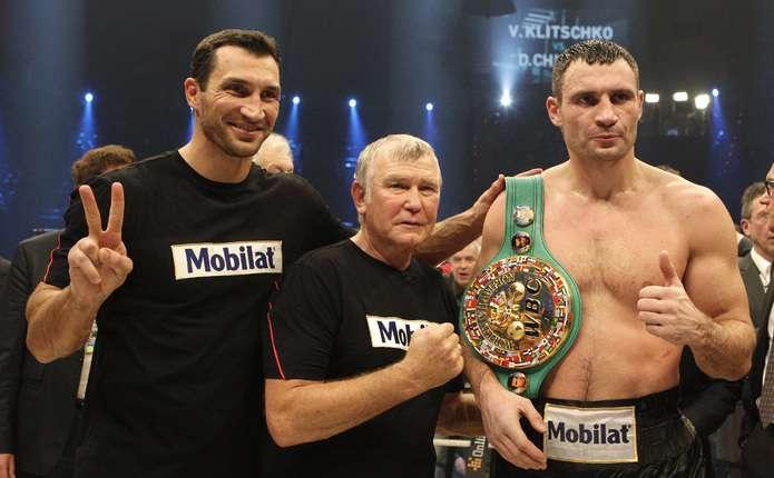 WBC нагородила українця Віталія Кличка титулом Вічного чемпіона світу