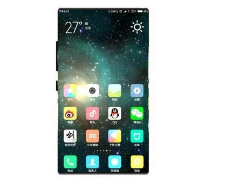 Безрамковий Xiaomi Mi Mix 2: з'явилися перші рендери