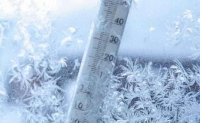 У Росії зафіксували аномально низьку температуру