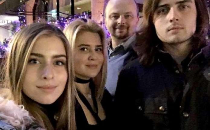 Син Ротару разом з родиною побували у різдвяному Лондоні