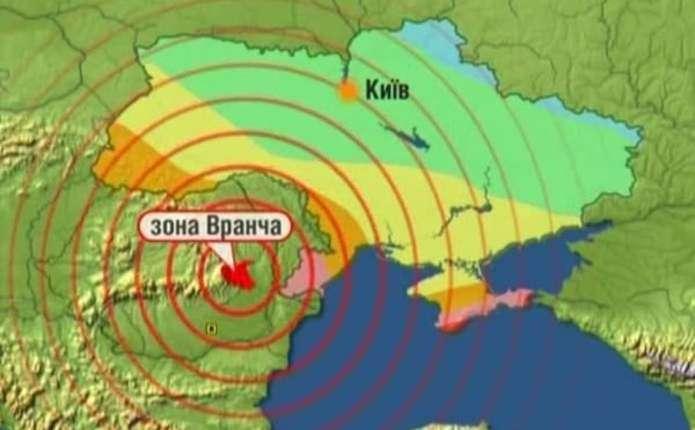 Наступний землетрус може досягнути 7 балів – румунські вчені
