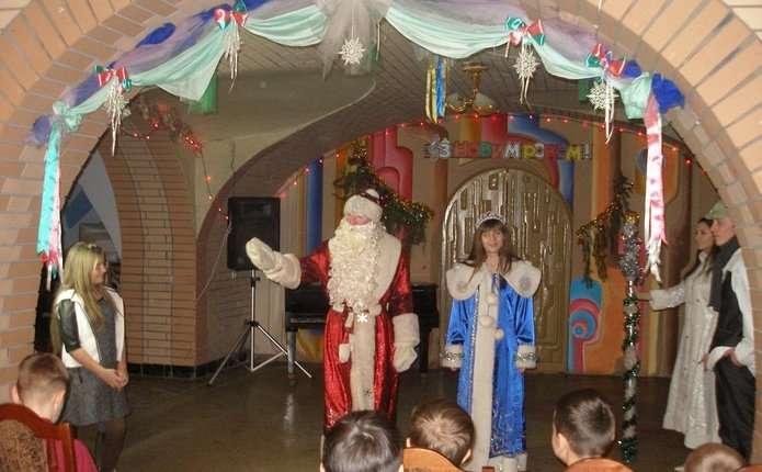 Дітям у Чернівцях подарували новорічне диво