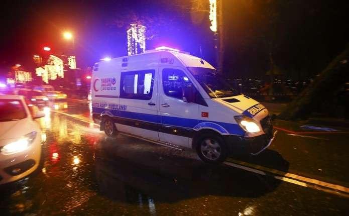 У Стамбулі загинули 39 людей внаслідок стрілянини у відомому нічному клубі
