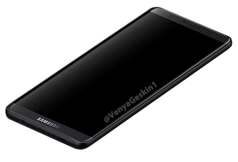 З'явилися перші рендери Samsung Galaxy S8