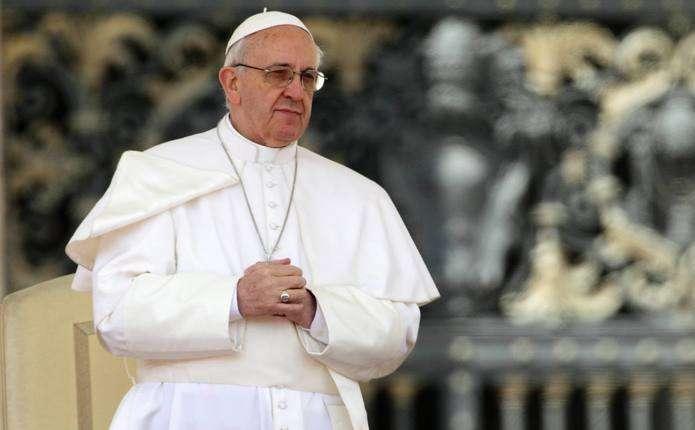 Папа Римський зробив заяву щодо ситуації на Донбасі