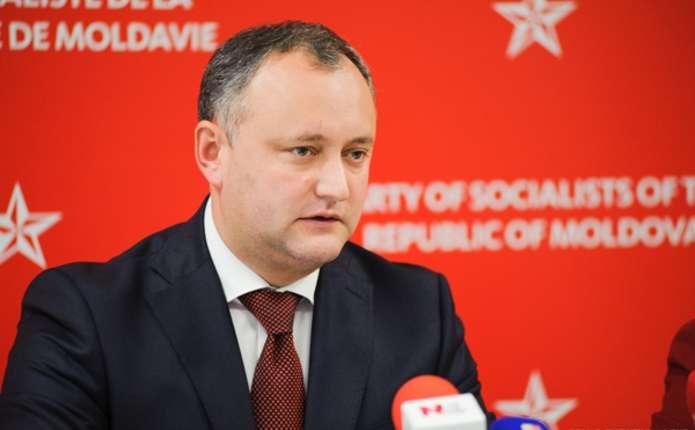 В Молдові ніхто не готовий ризикнути визнати Крим російським, - Додон
