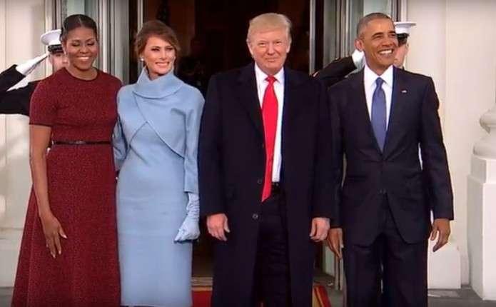Обами передали Трампам Білий дім