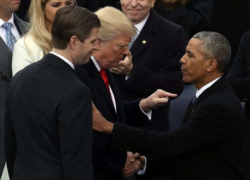 Дональд Трамп вступив на посаду президента США
