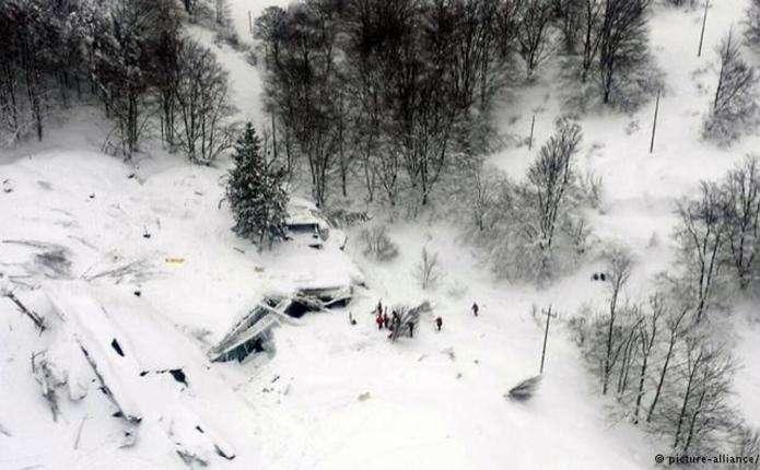 В Італії знайшли тіла всіх 29 загиблих в результаті сходу лавини