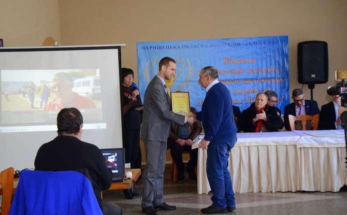 У Чернівцях нагородили кращих спортсменів та меценатів асоціації Техноспорт