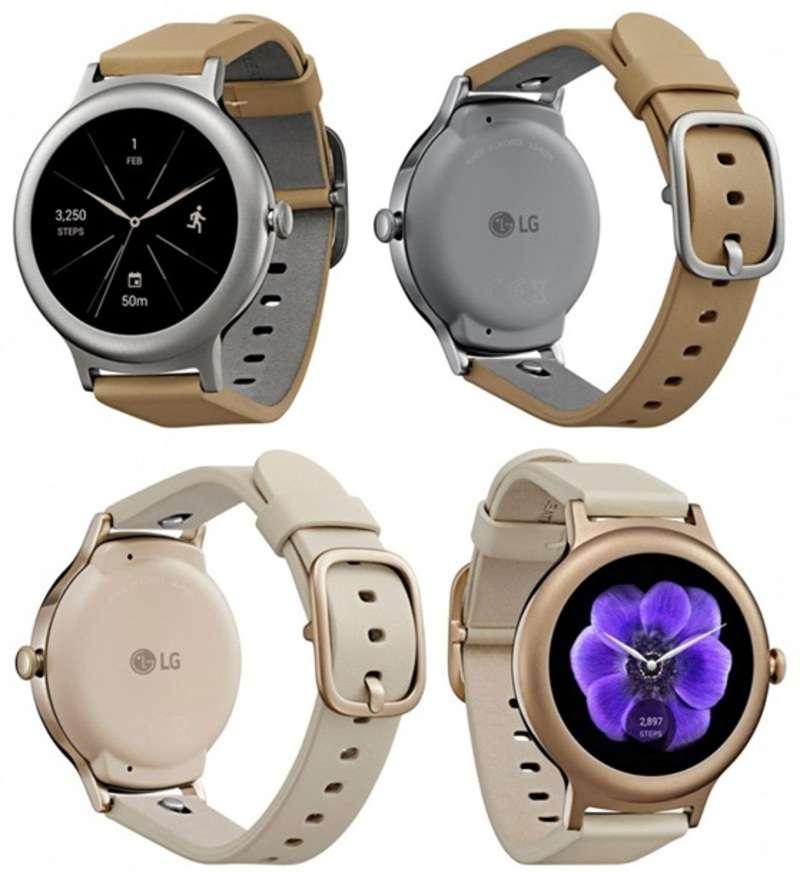 Оприлюднено знімки розумних годинників від LG під назвою Watch Style