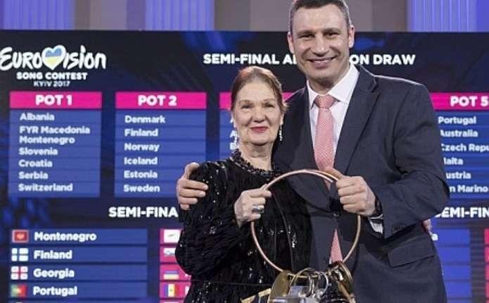 Кличко отримав символічні ключі від Євробачення - 2017