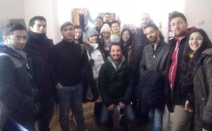 Волонтери з Туреччини, Єгипту, Йорданії, Китаю та Індонезії відвідали наукову бібліотеку ЧНУ