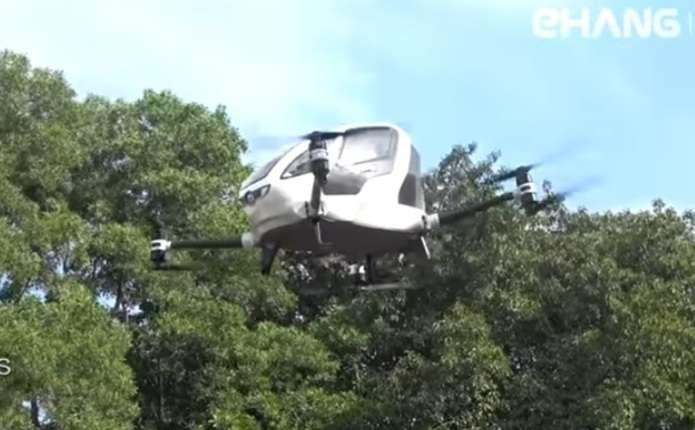 У Дубаї мають намір перевозити пасажирів на дронах уже влітку