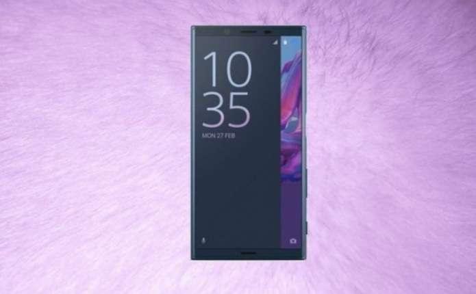 Потужний смартфон Sony показали на рендері