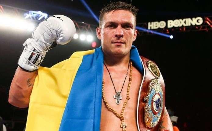 8 квітня Олександр Усик проведе захист титулу чемпіона WBO