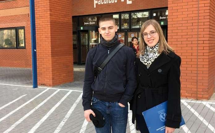 Двоє студентів економічного факультету ЧНУ один семестр навчатимуться в Іспанії