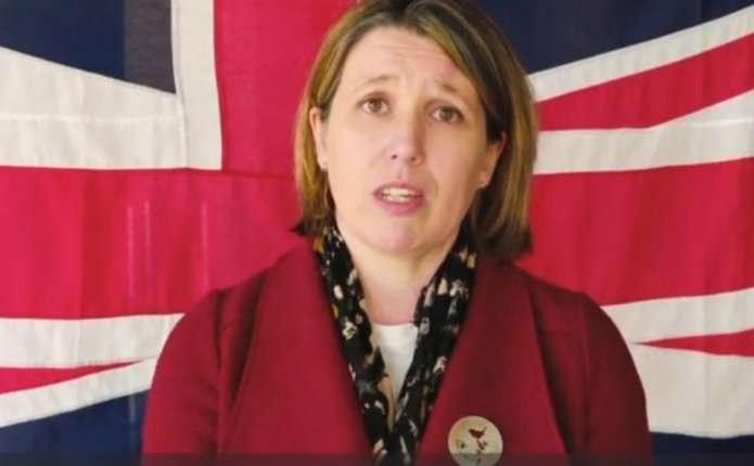 Посол Британії віджалась 22 рази підтримавши ветеранів АТО