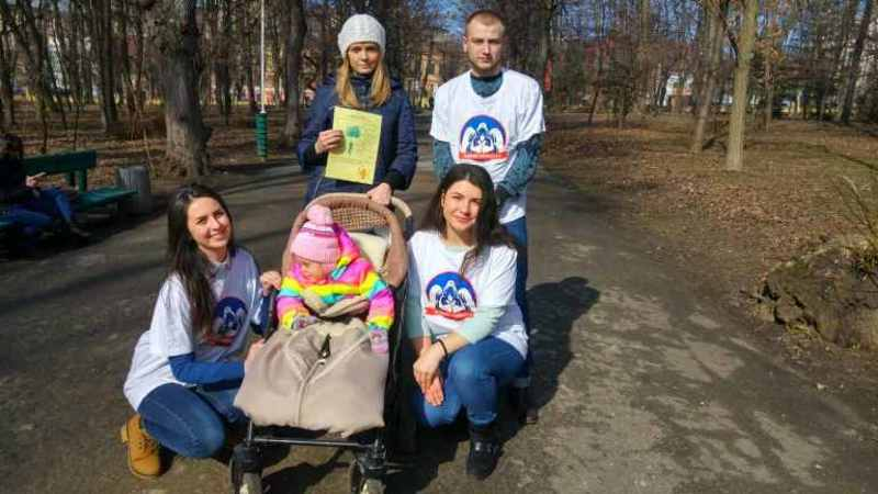Студенти БДМУ у парку  розповідали про гіповітаміноз