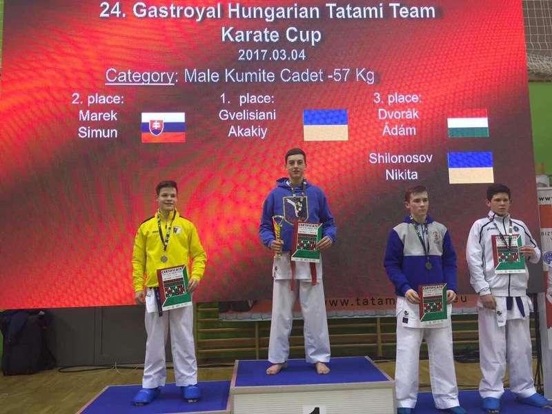 Юний чернівчанин виграв у Будапешті дорослі змагання