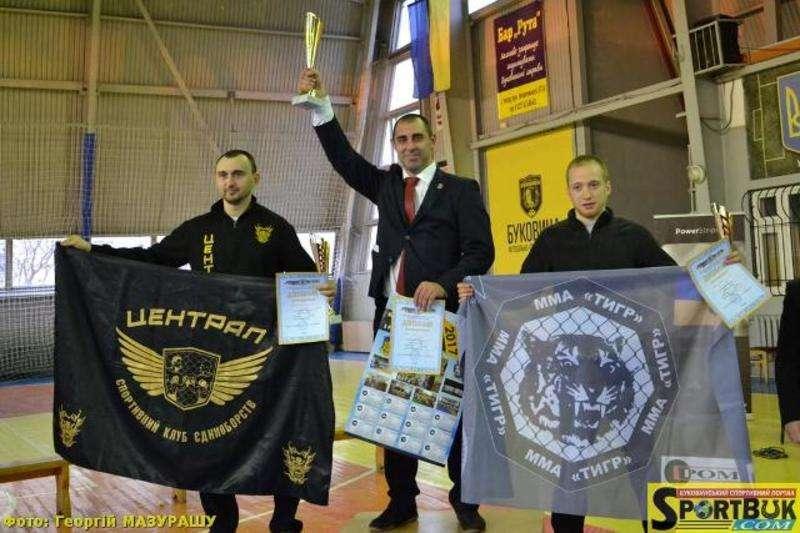 Пройшов Відкритий чемпіонат Чернівців з рукопашного бою