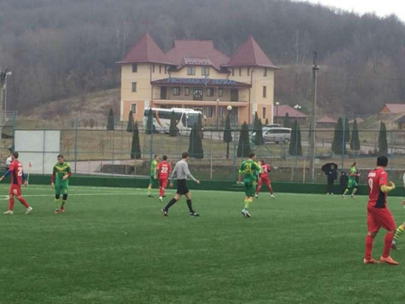 ФК Буковина програла у контрольному матчі