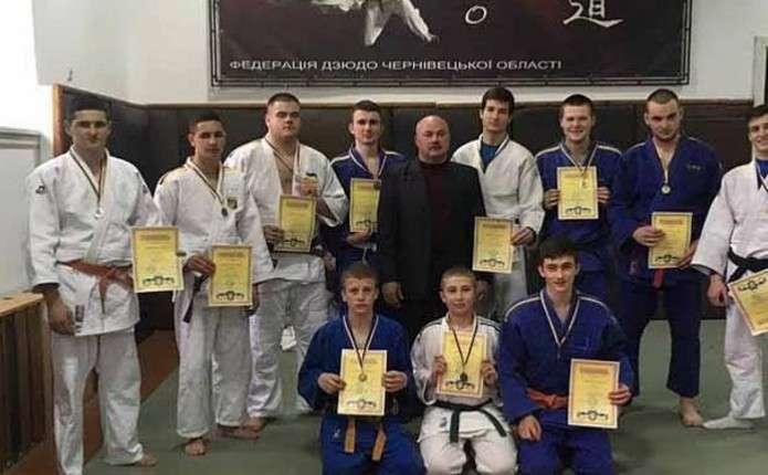 У Чернівцях відбувся Чемпіонат області з дзюдо серед молоді