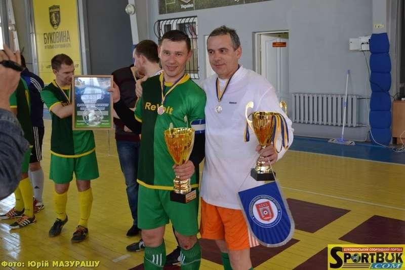 У Чернівцях пройшов фінал Відкритого Кубку з футзалу