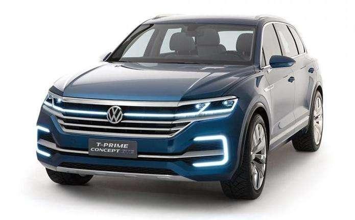 VW Touareg 2018: перші фото та подробиці