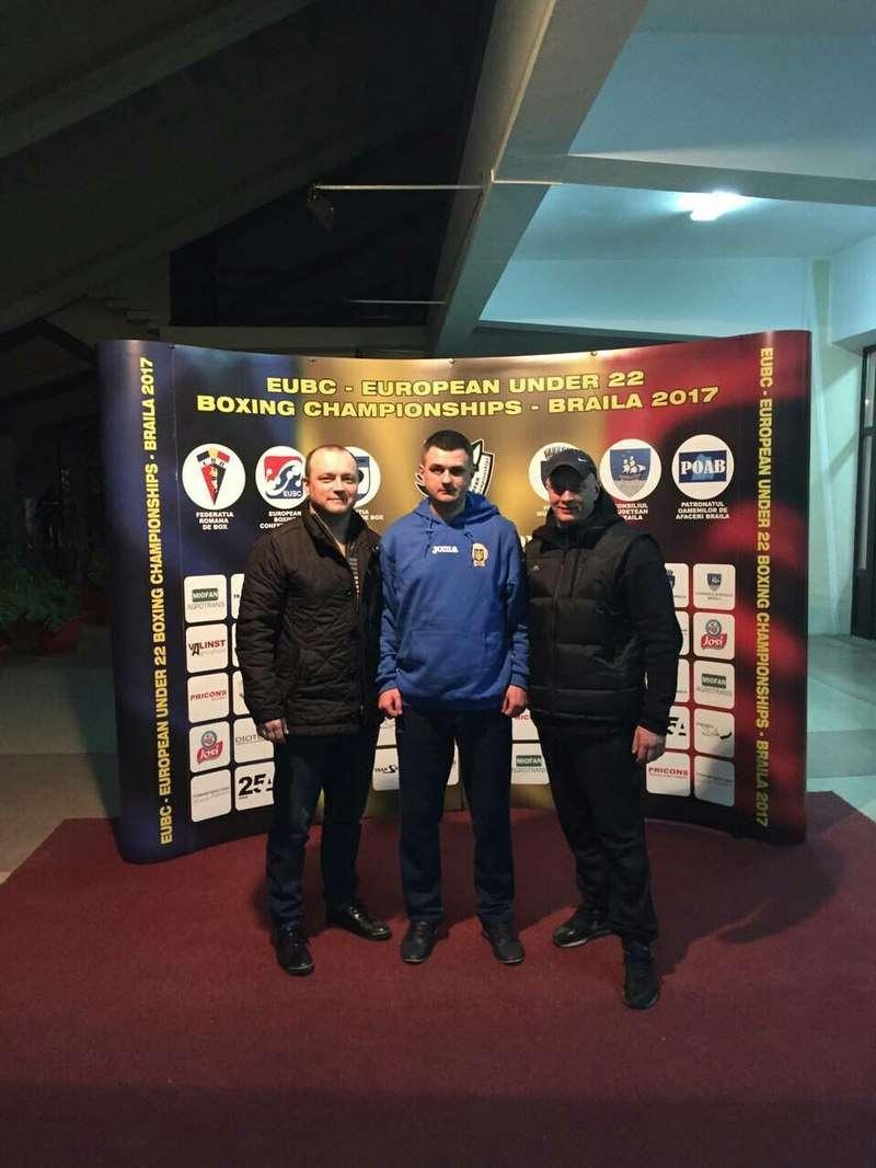 Степан Грекул здобув бронзу на дорослому чемпіонаті Європи