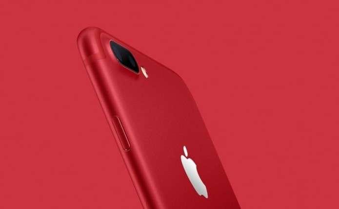 Червоні IPhone 7 та IPhone7 Plus цього тижня будуть у продажі