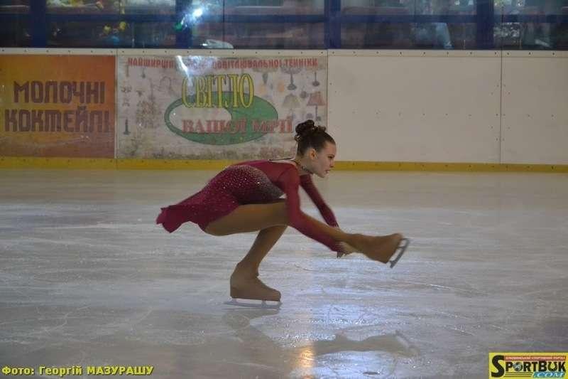У Чернівцях пройшов чемпіонат області з фігурного катання Сузір'я Буковини