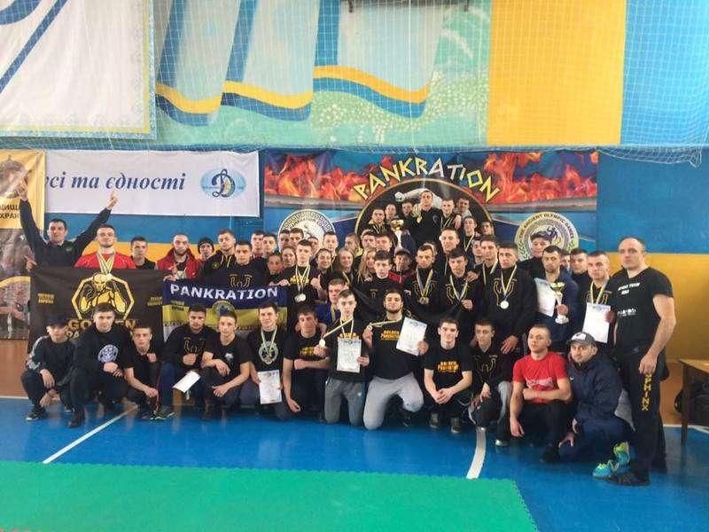 Буковинці здобули перемогу на Чемпіонаті України з панкратіону