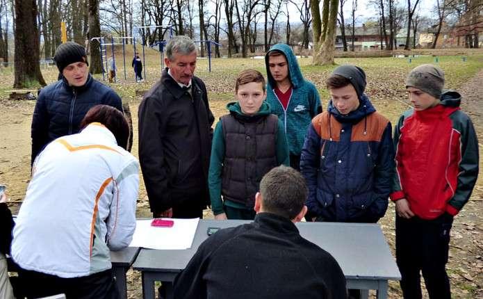 На Буковині пройшли змагання зі спортивного орієнтування