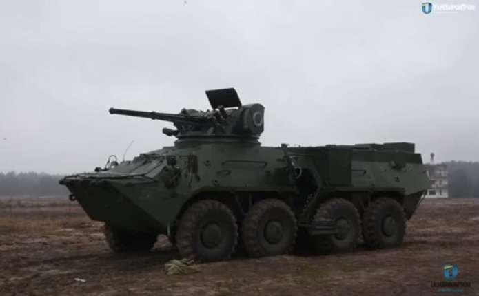 Укроборонпром випробував новий бойовий модуль Штурм-М