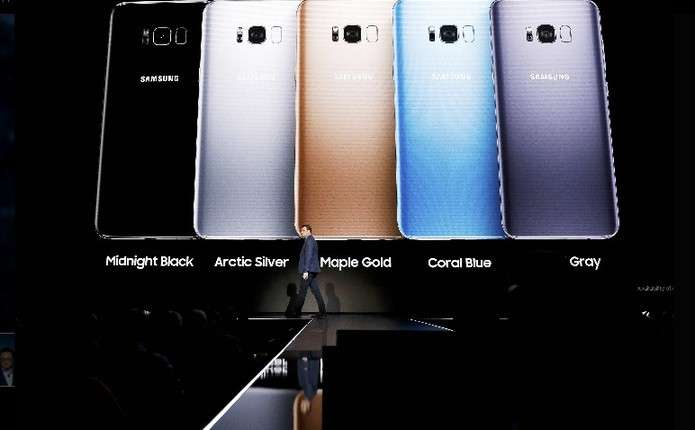 Компанія Samsung представила нові смартфони Galaxy S8 та Galaxy S8+