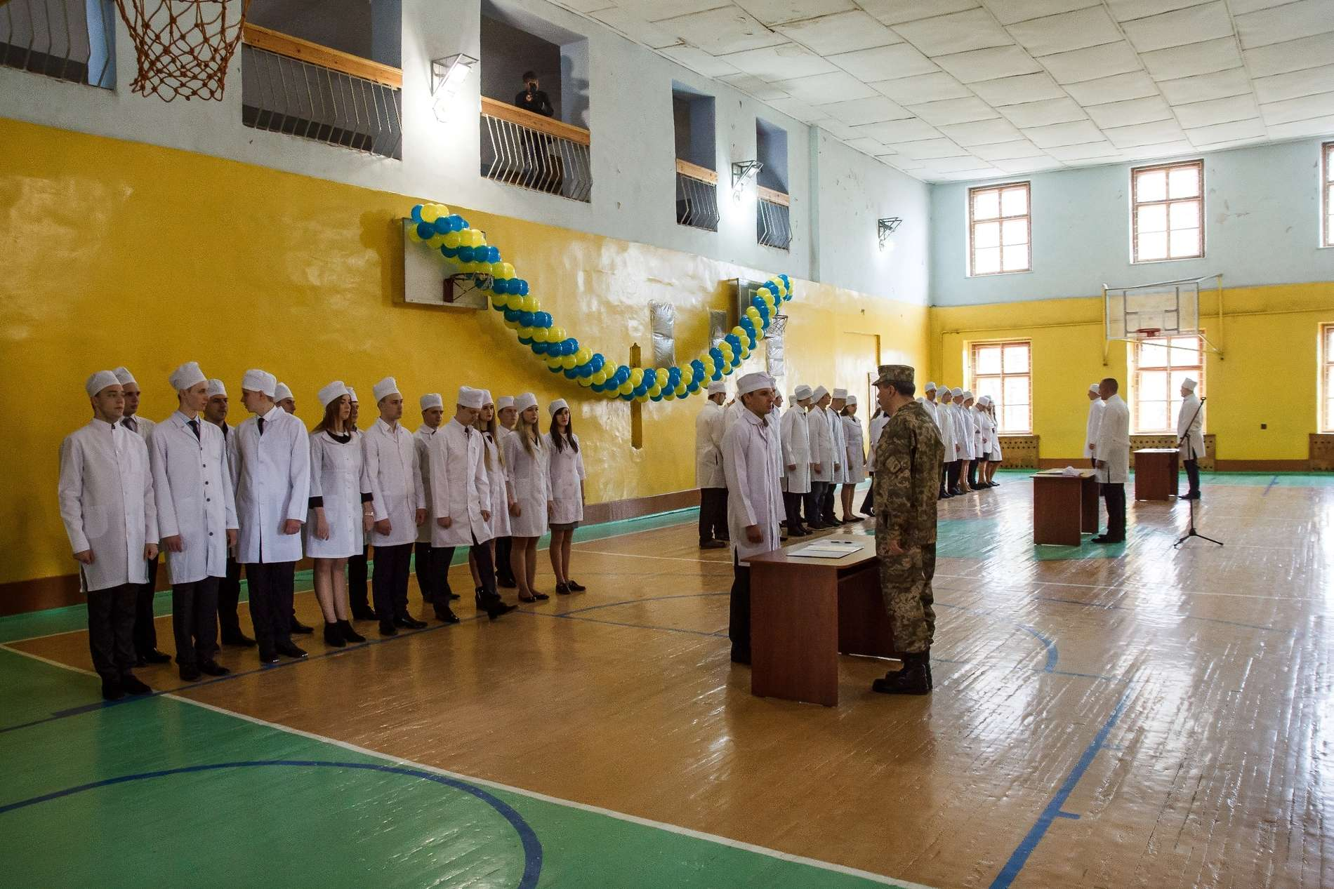 Майже 50 студентів БДМУ склали військову присягу на вірність Українському народу