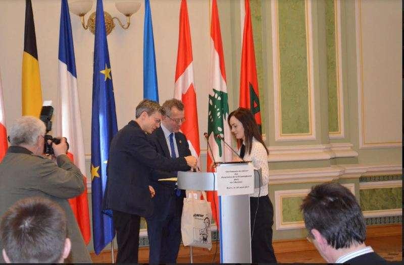 Студентка ЧНУ стала лауреатом міжвузівського конкурсу перекладу поезій бельгійського поета