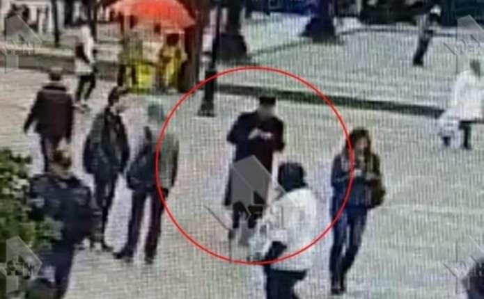 З'явилося відео з ймовірним петербурзьким терористом