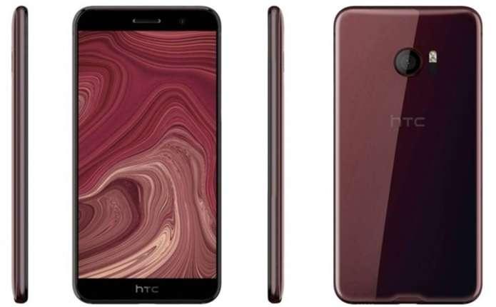 Флагман HTC показали на рендерах