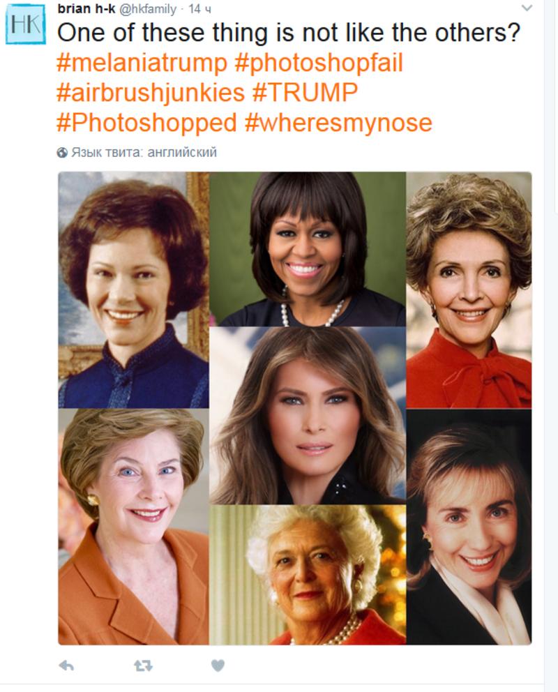 У Вашингтоні представили офіційний портрет Меланії Трамп